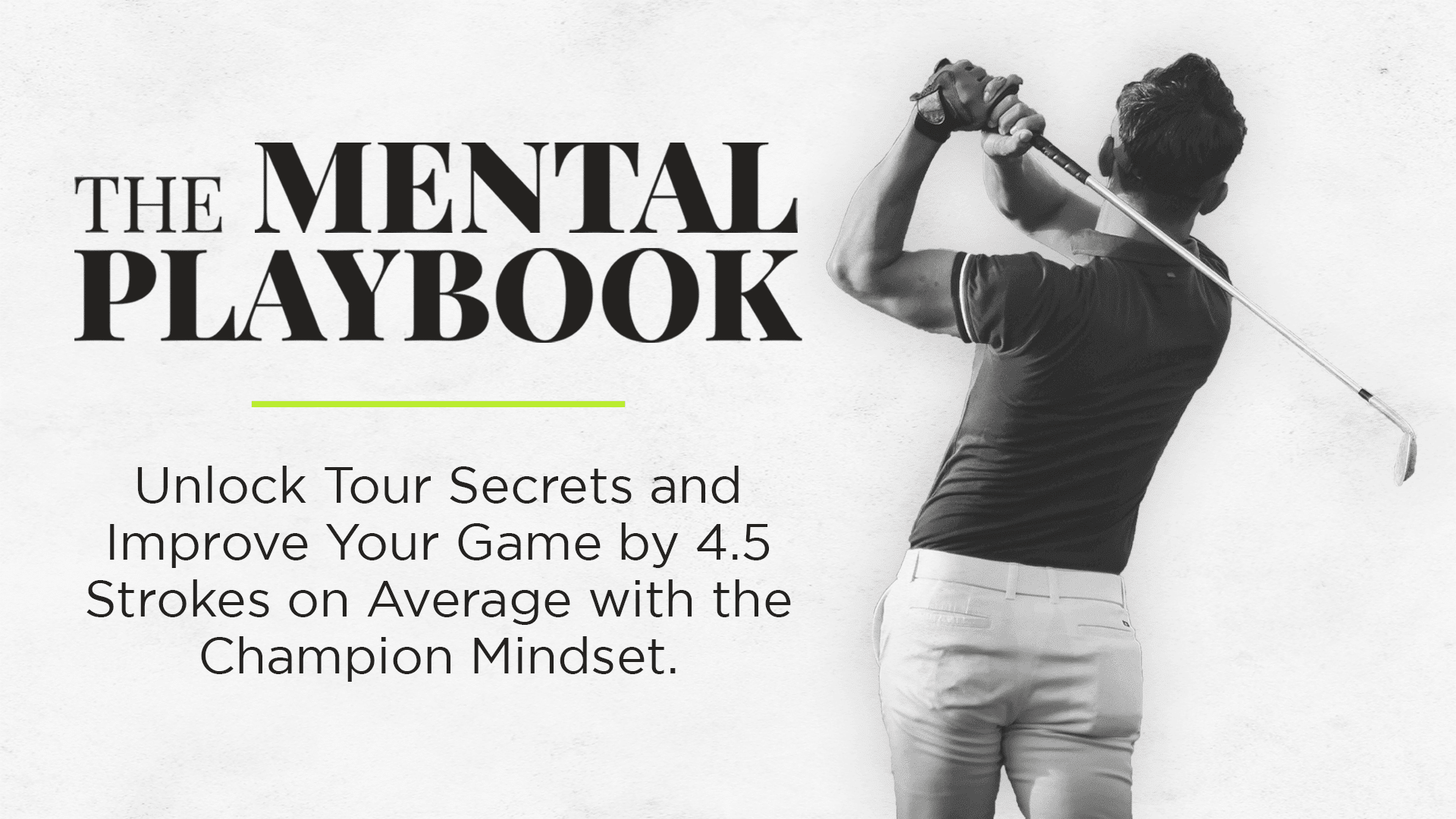 The Mental Playbook